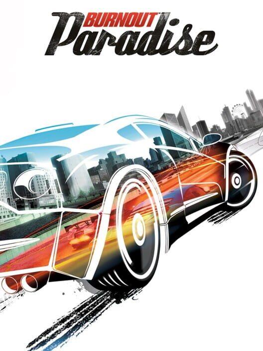 Omslag för Burnout Paradise