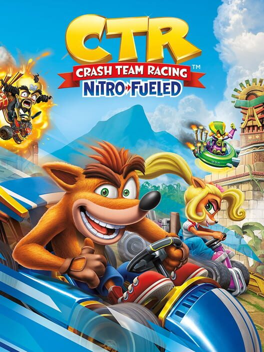 Omslag för Crash Team Racing Nitro-Fueled