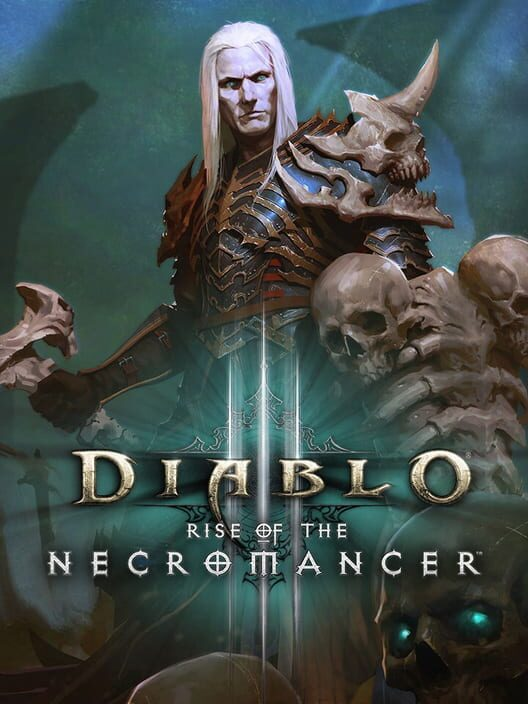 Omslag för Diablo III: Rise Of The Necromancer