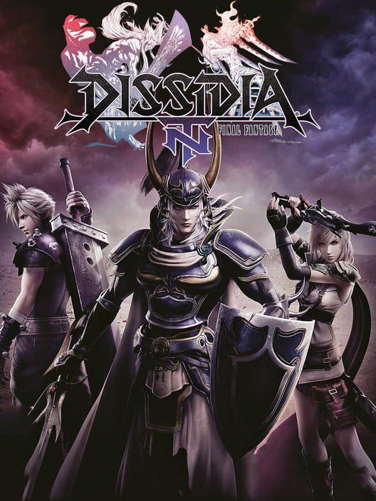 Omslag för Dissidia Final Fantasy NT