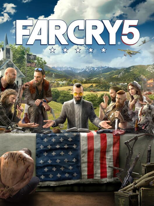Omslag för Far Cry 5