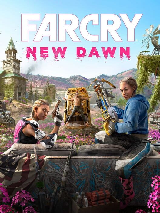 Omslag för Far Cry: New Dawn