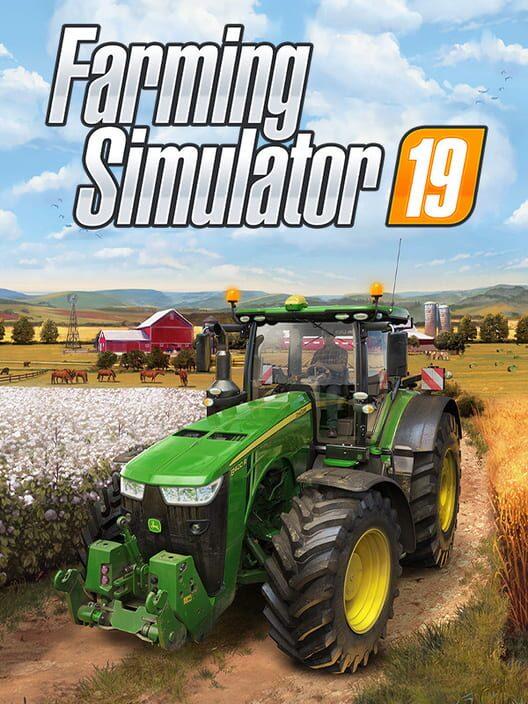 Omslag för Farming Simulator 19