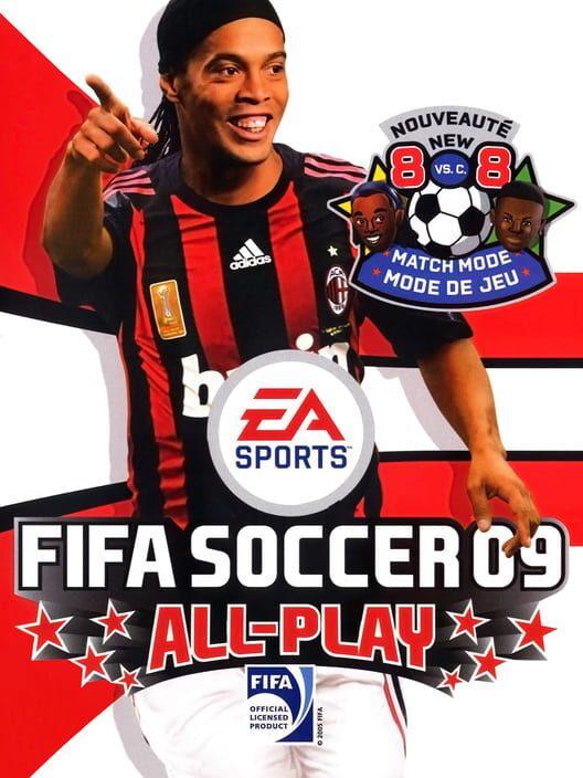 Omslag för FIFA 09 All Play