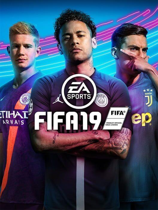 Omslag för FIFA 19