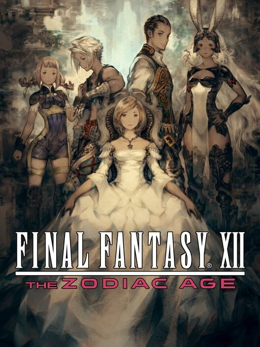 Omslag för Final Fantasy XII: The Zodiac Age