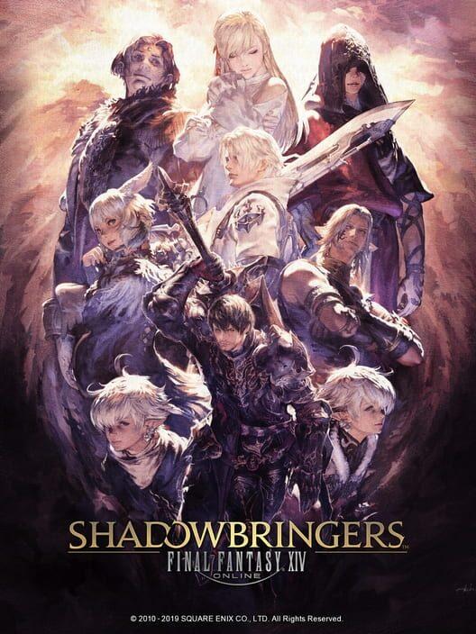 Omslag för Final Fantasy XIV: Shadowbringers