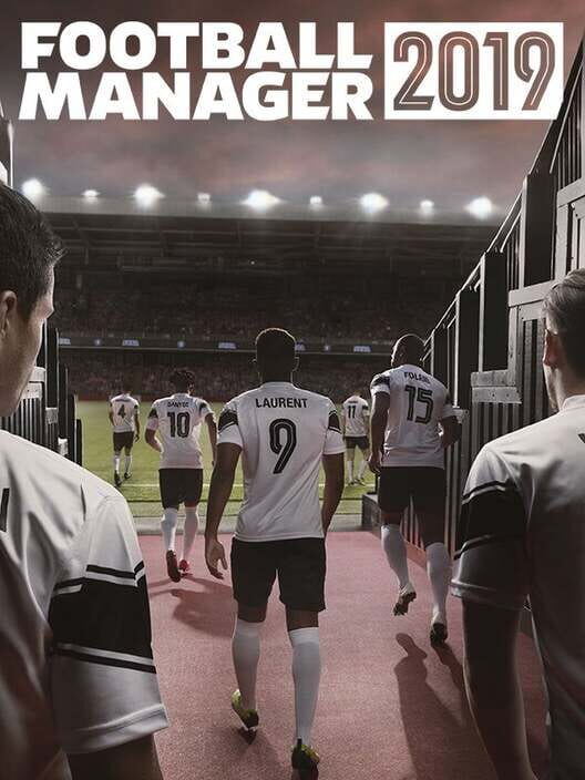 Omslag för Football Manager 2019