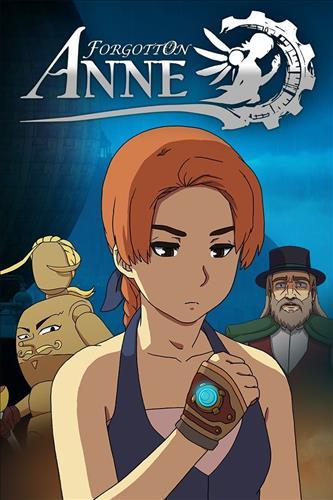 Omslag för Forgotton Anne