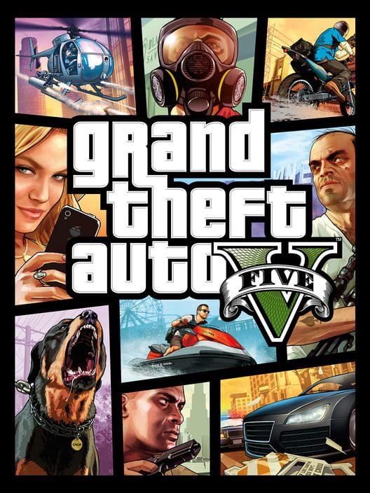 Omslag för Grand Theft Auto V