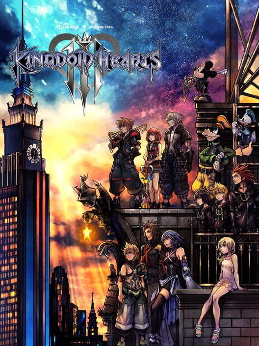 Omslag för Kingdom Hearts III