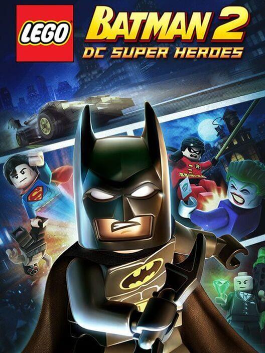 Omslag för LEGO Batman 2: DC Super Heroes
