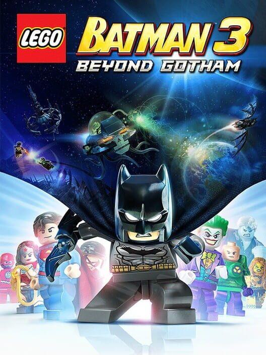 Omslag för LEGO Batman 3: Beyond Gotham