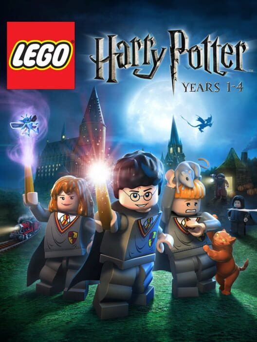 Omslag för LEGO Harry Potter: Years 1-4