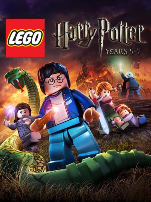 Omslag för LEGO Harry Potter: Years 5-7