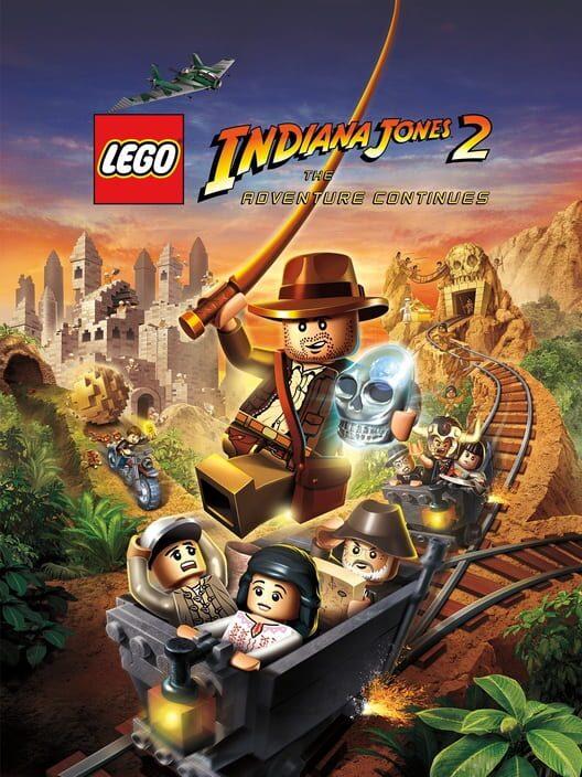 Omslag för LEGO Indiana Jones 2: The Adventure Continues