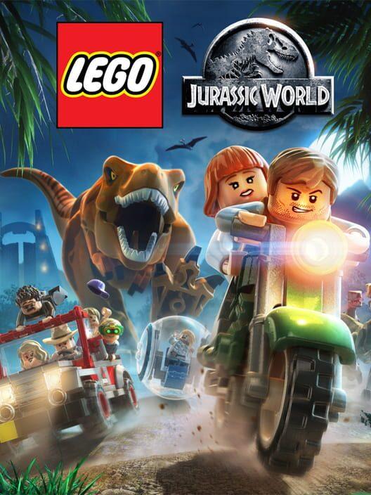 Omslag för LEGO Jurassic World