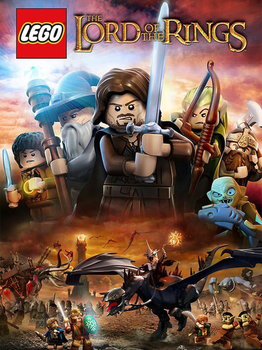 Omslag för LEGO Lord Of The Rings