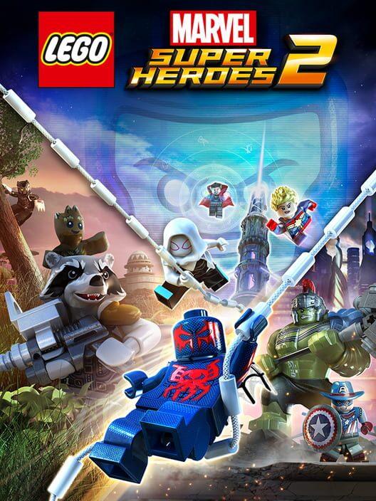 Omslag för LEGO Marvel Super Heroes 2