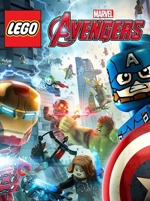 Omslag för LEGO Marvel's Avengers