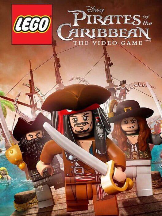 Omslag för LEGO Pirates Of The Caribbean