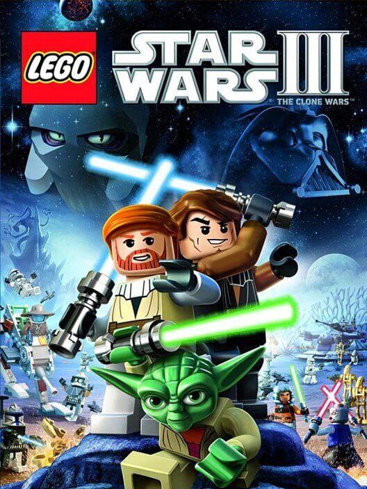 Omslag för LEGO Star Wars III: The Clone Wars
