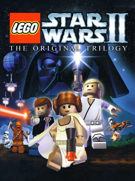 Omslag för LEGO Star Wars II: The Original Trilogy