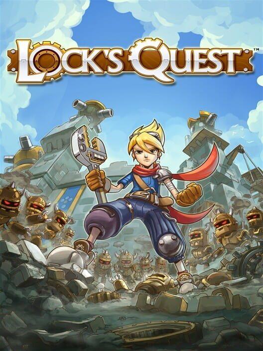 Omslag för Lock's Quest