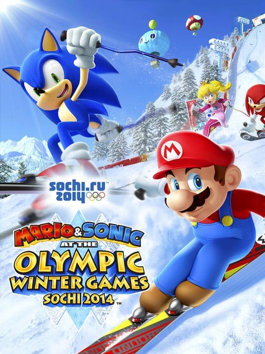 Omslag för Mario & Sonic At The Sochi 2014 Olympic Winter Games