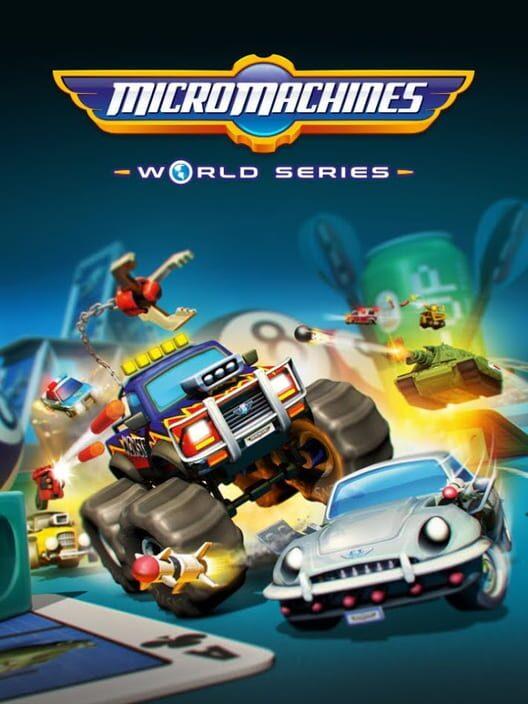 Omslag för Micro Machines World Series