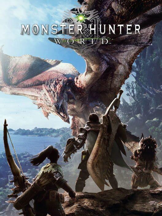 Omslag för Monster Hunter: World
