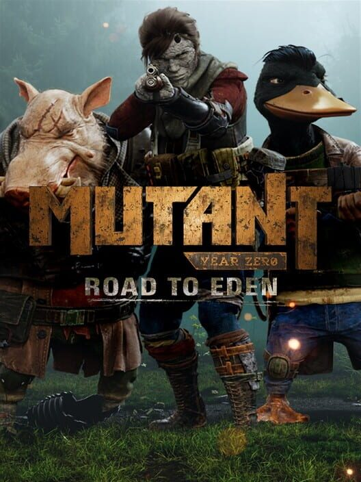 Omslag för Mutant Year Zero: Road To Eden
