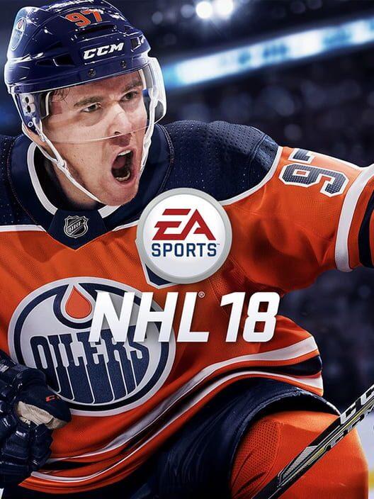 Omslag för NHL 18