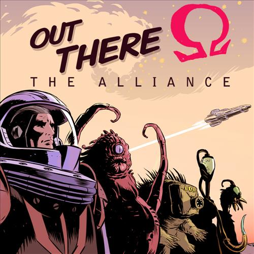 Omslag för Out There: Omega The Alliance