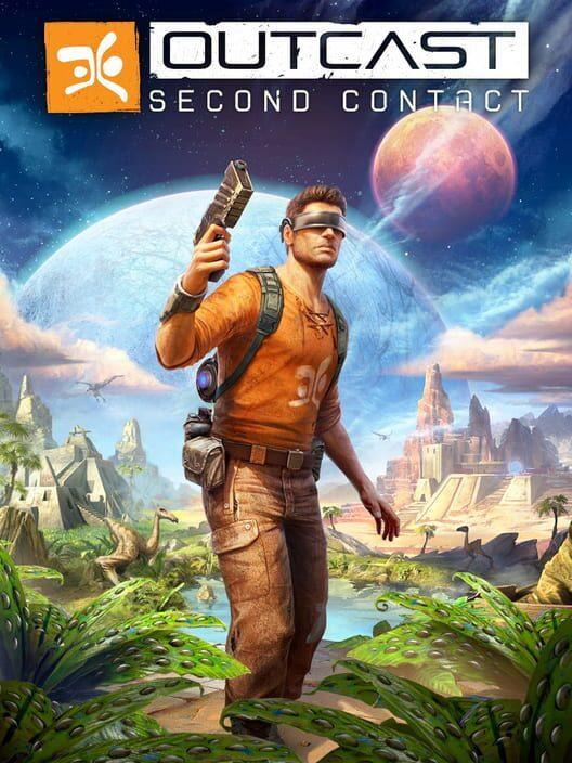 Omslag för Outcast: Second Contact