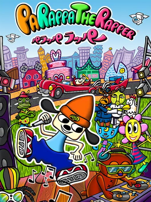 Omslag för PaRappa The Rapper Remastered