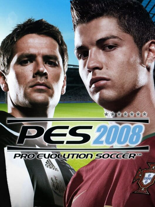 Omslag för Pro Evolution Soccer 2008