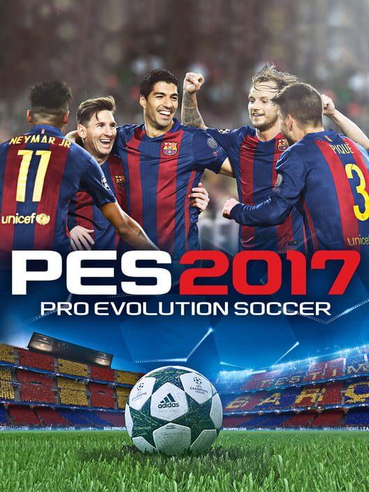 Omslag för Pro Evolution Soccer 2017