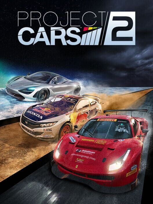 Omslag för Project Cars 2