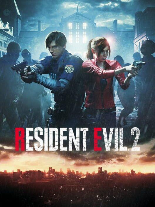 Omslag för Resident Evil 2