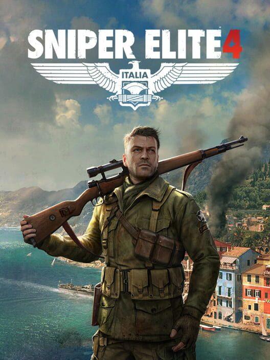Omslag för Sniper Elite 4