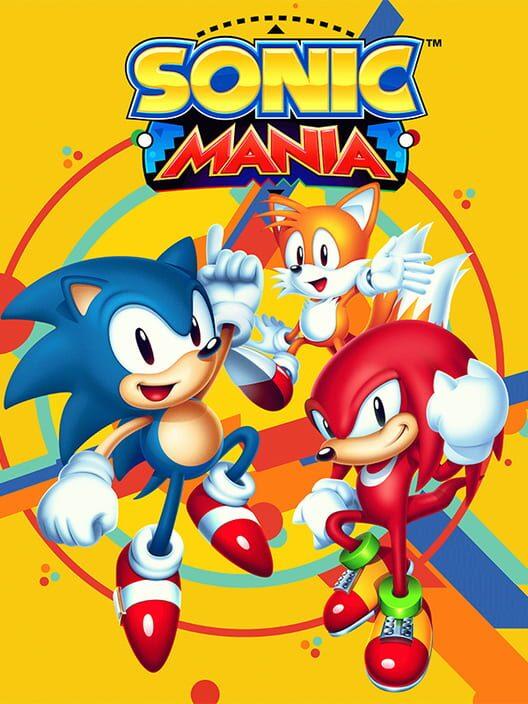 Omslag för Sonic Mania
