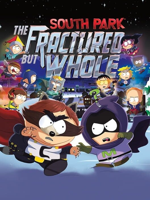 Omslag för South Park: The Fractured But Whole