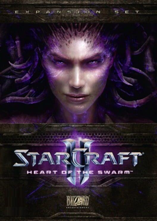 Omslag för Starcraft II: Heart Of The Swarm