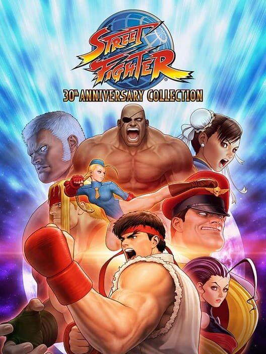 Omslag för Street Fighter: 30th Anniversary Collection