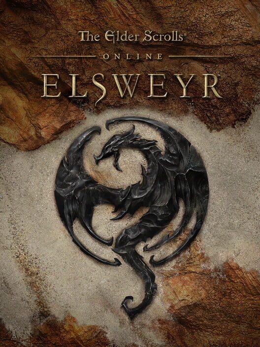Omslag för The Elder Scrolls Online: Elsweyr