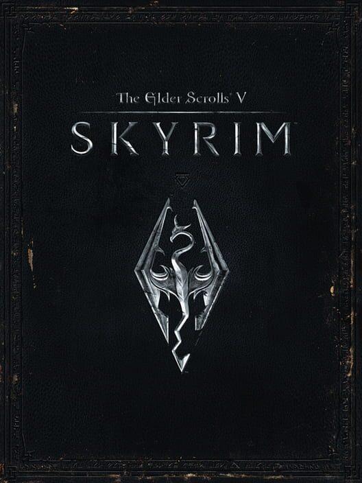Omslag för The Elder Scrolls V: Skyrim