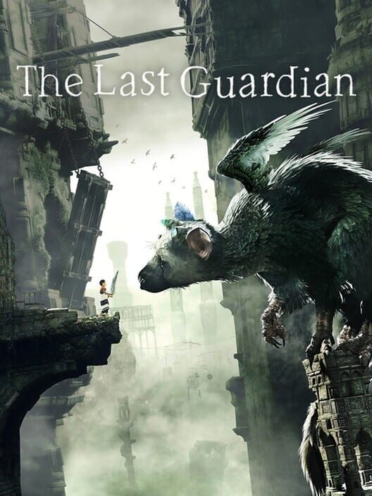 Omslag för The Last Guardian