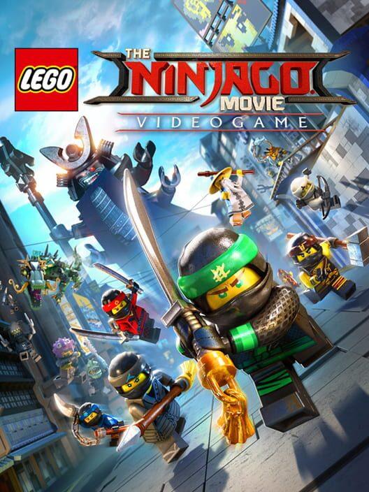 Omslag för The LEGO Ninjago Movie Video Game