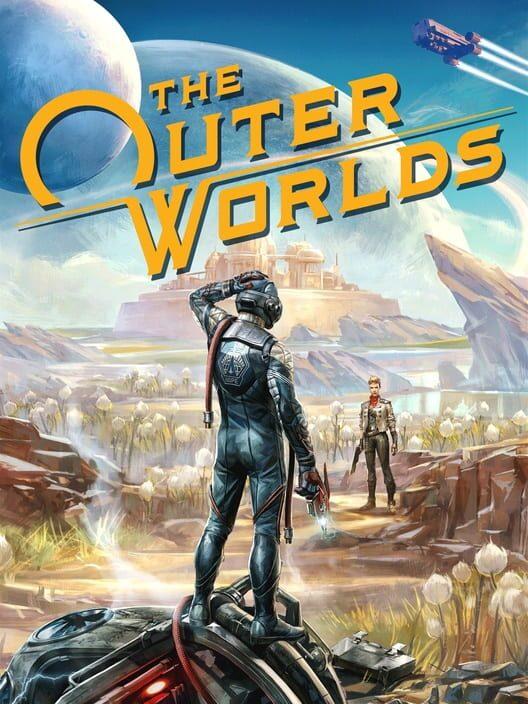 Omslag för The Outer Worlds